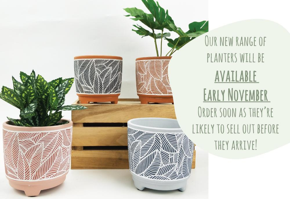 New Planter Range