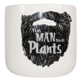 This Man… Planter Black Sm 12cm