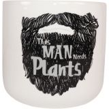 This Man… Planter Black Med 14cm