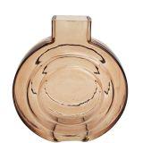 Tommy Round Glass Vase Rose Sm 16.5cm