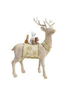 Woodland Reindeer Standing Decoration Be