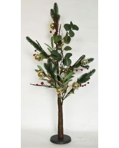 Native with Berry Christmas Tree Green S
