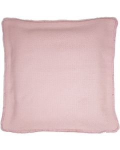 Sale Fringe Cushion Blush 45cm