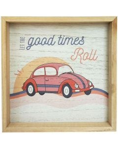 Good Times Bug Block Frame Peach 20cm