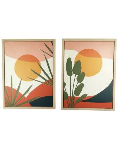 Jasper Wall Art Multicolour 60cm (2 Asst