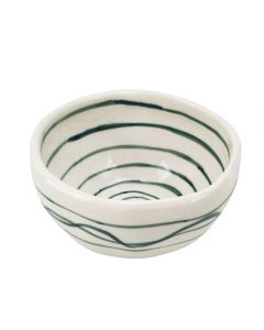 Carley Circle Trinket Bowl Green 4.8x8.8