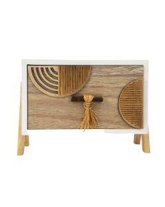 Kiana Abstract Drawer Natural 20x15.5cm