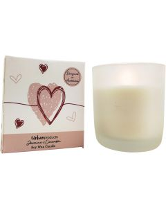 Love Boxed Soy Candle Pink 9cm