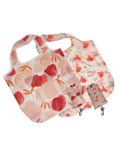 Botanic Eco Bag Peach 65cm (2 Asst)