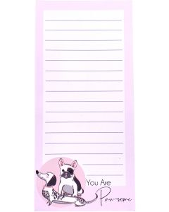 You Are Paw-some Notepad Pink 20cm