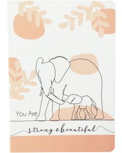 Strong & Beautiful Zoo Animal Journal Pe