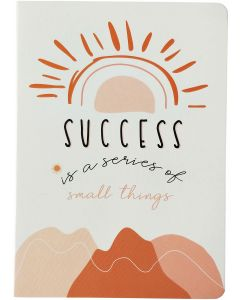 Success Rainbow Journal Peach A5