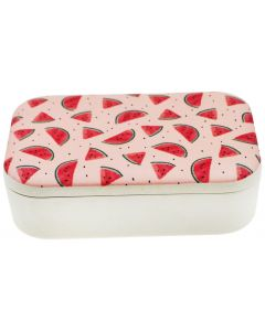 Watermelon Bamboo Container Pink 800ml